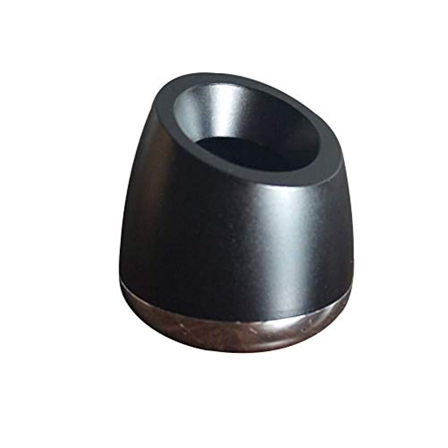 それによってクリーク心からOUNONA シェービング剃刀スタンドアルミニウム合金シェービングトリマーホルダー斜め開き