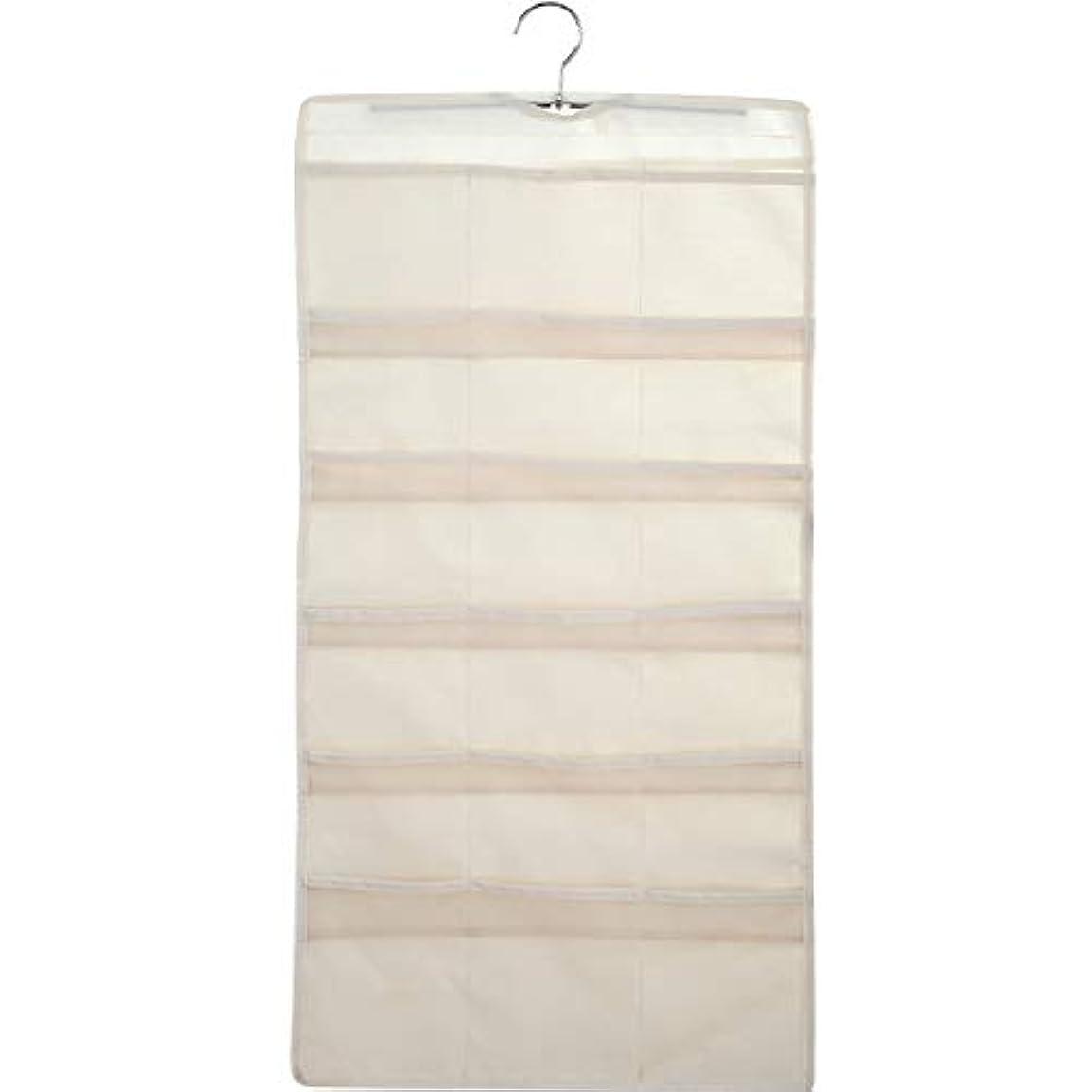 文句を言う厚い最大の大きくて深いポケットが付いている掛かる収納オーガナイザー、小さいワードローブのための両面スペース節約衣服オーガナイザー,A
