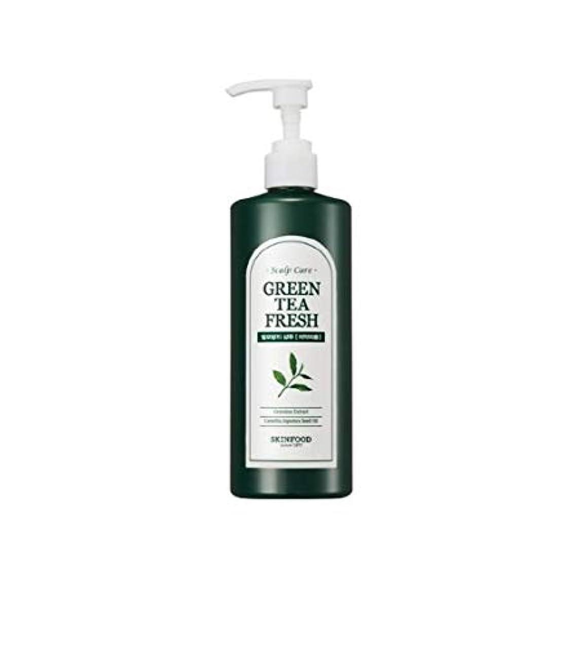 鹿同時ブレイズSkinfood グリーンティーフレッシュシャンプー/Greentea Fresh Shampoo 400ml [並行輸入品]