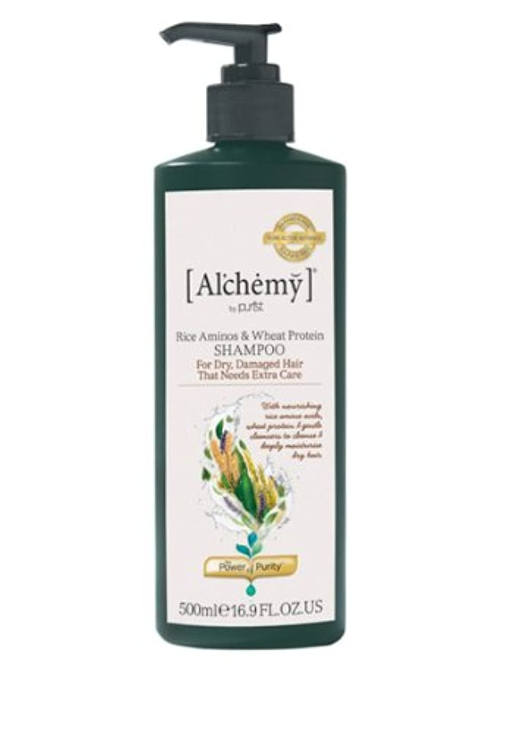 通信する命令更新【Al'chemy(alchemy)】アルケミー ライス アミノス モイスチャーシャンプー(Rice Aminos-Intensive Moisture Shampoo)(ドライ髪用)500ml