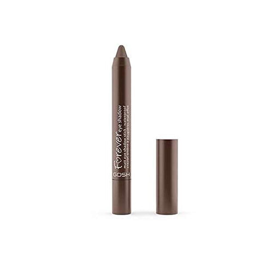 機械的に速度騒[GOSH ] おやっ永遠にシングルアイシャドウクレヨン11のD /ブラウン1.5グラムをマット - Gosh Forever Matte Single Eyeshadow Crayon 11 D/Brown 1.5G...