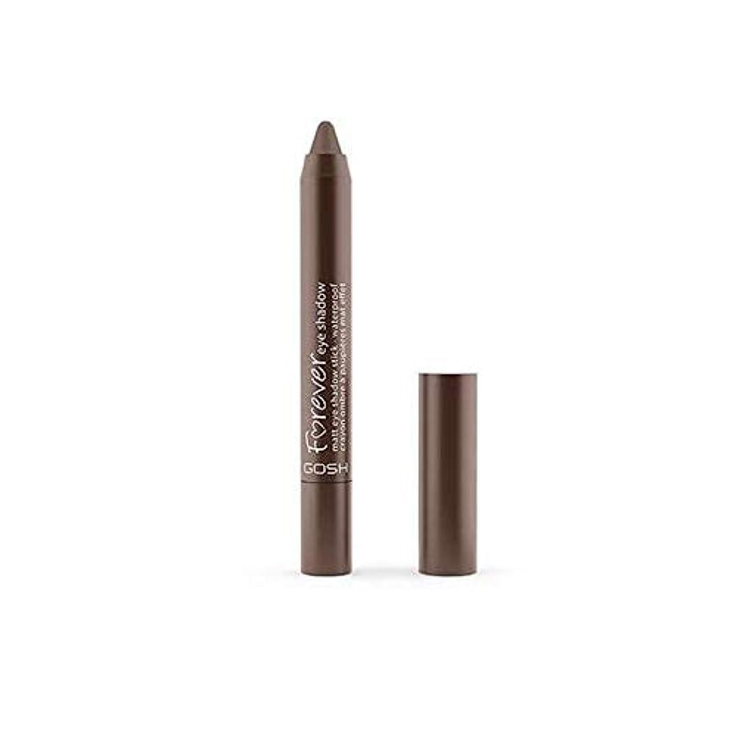 代わりの聖歌カフェ[GOSH ] おやっ永遠にシングルアイシャドウクレヨン11のD /ブラウン1.5グラムをマット - Gosh Forever Matte Single Eyeshadow Crayon 11 D/Brown 1.5G...