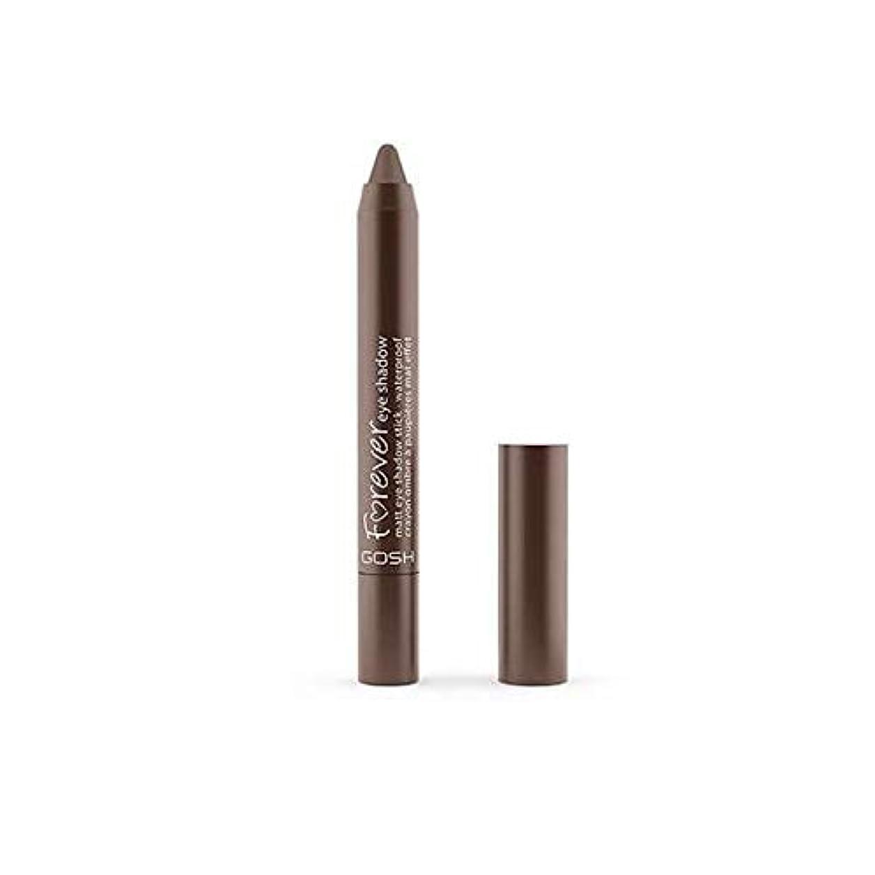 姿勢杭極貧[GOSH ] おやっ永遠にシングルアイシャドウクレヨン11のD /ブラウン1.5グラムをマット - Gosh Forever Matte Single Eyeshadow Crayon 11 D/Brown 1.5G...