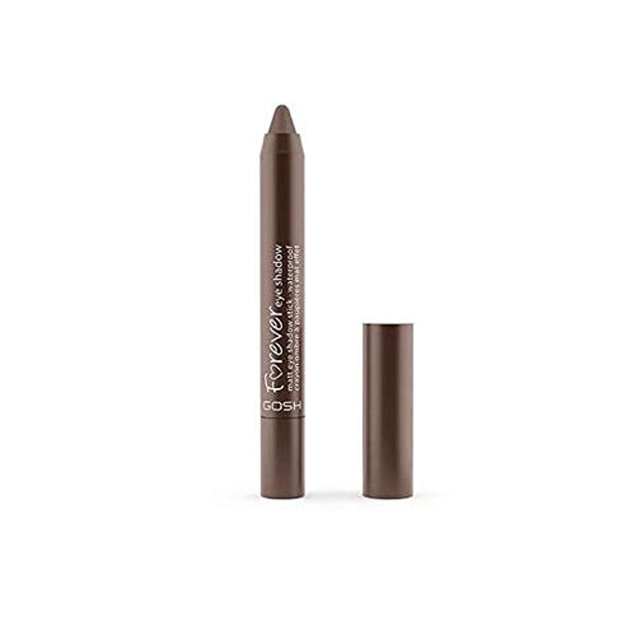 前述のキャラクターピット[GOSH ] おやっ永遠にシングルアイシャドウクレヨン11のD /ブラウン1.5グラムをマット - Gosh Forever Matte Single Eyeshadow Crayon 11 D/Brown 1.5G...