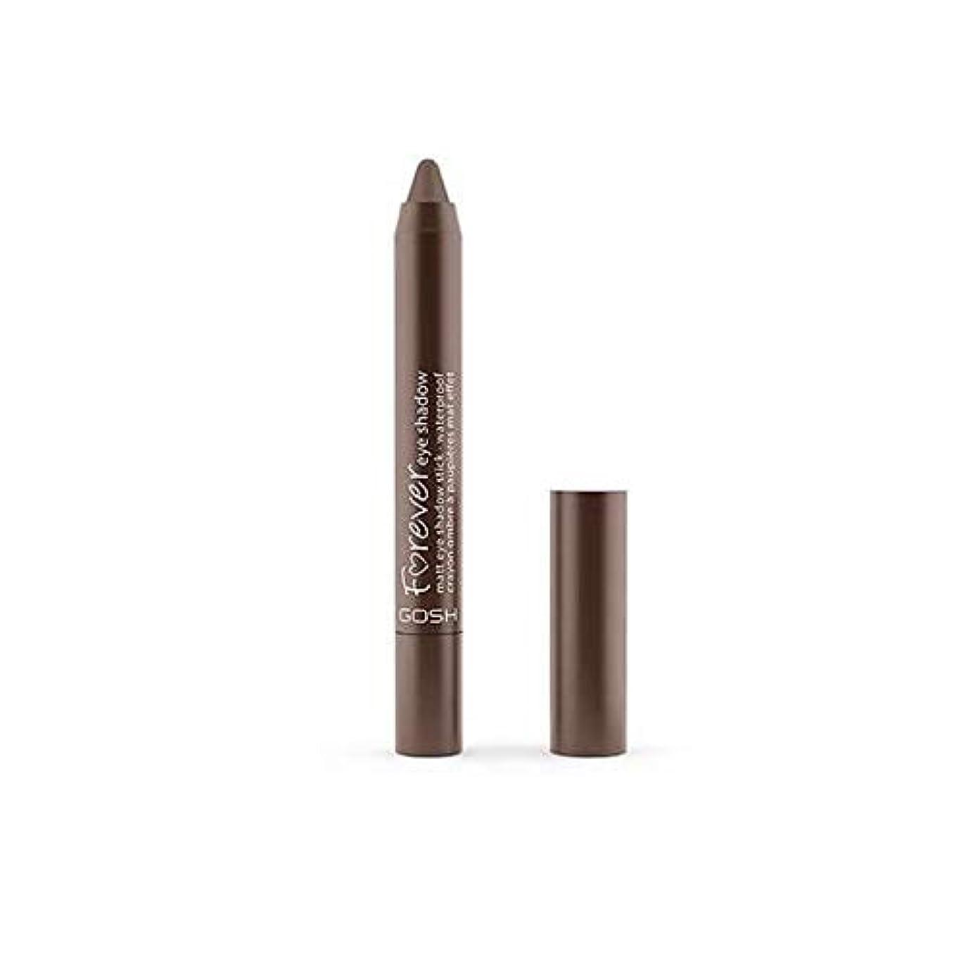 移民呼ぶデモンストレーション[GOSH ] おやっ永遠にシングルアイシャドウクレヨン11のD /ブラウン1.5グラムをマット - Gosh Forever Matte Single Eyeshadow Crayon 11 D/Brown 1.5G [並行輸入品]