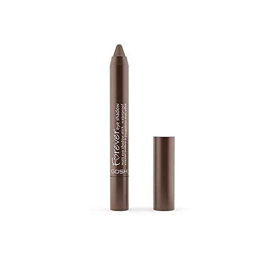 祝福時計回りコジオスコ[GOSH ] おやっ永遠にシングルアイシャドウクレヨン11のD /ブラウン1.5グラムをマット - Gosh Forever Matte Single Eyeshadow Crayon 11 D/Brown 1.5G...