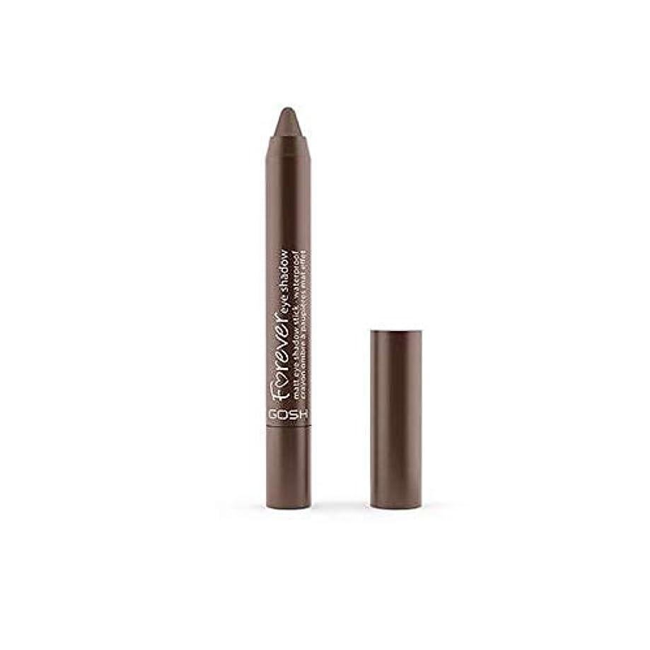 ウナギ物理的な望ましい[GOSH ] おやっ永遠にシングルアイシャドウクレヨン11のD /ブラウン1.5グラムをマット - Gosh Forever Matte Single Eyeshadow Crayon 11 D/Brown 1.5G [並行輸入品]