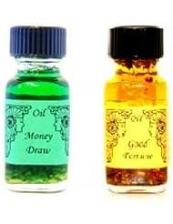 【金運と繁栄】+【素敵な未来へ】Ancient Memory Oils 【人気の2点セット】アンシェントメモリーオイル 【MONEY DRAW】 +【GOOD FORTUNE】 【海外直送品】