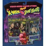 Video Game Super Stars Marvel X-Men VS. Capcom Street Fighter Juggernaut Vs. Dhalsim by X Men