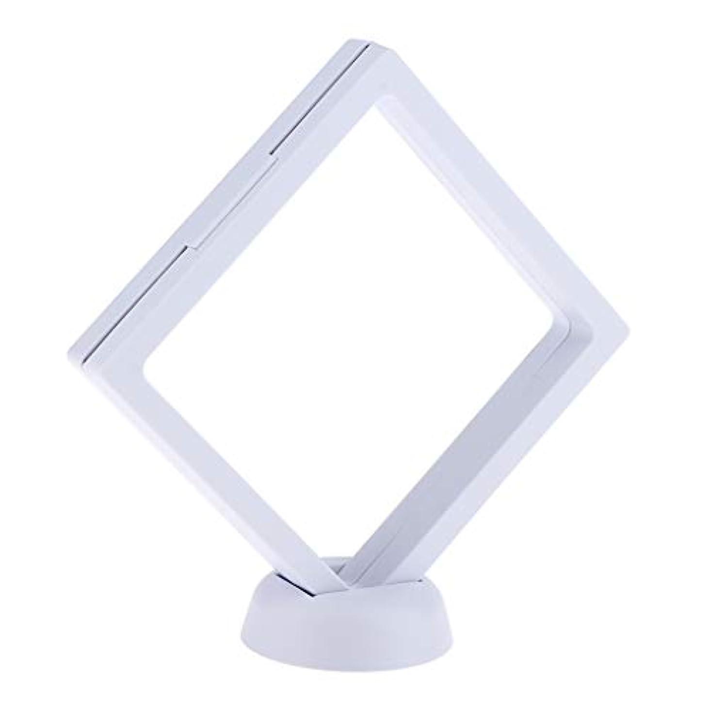 テキスト販売計画語B Baosity ネイルアート 展示用 ボード ネイルサロン ネイルヒント ディスプレイスタンド 2色選べ - 白