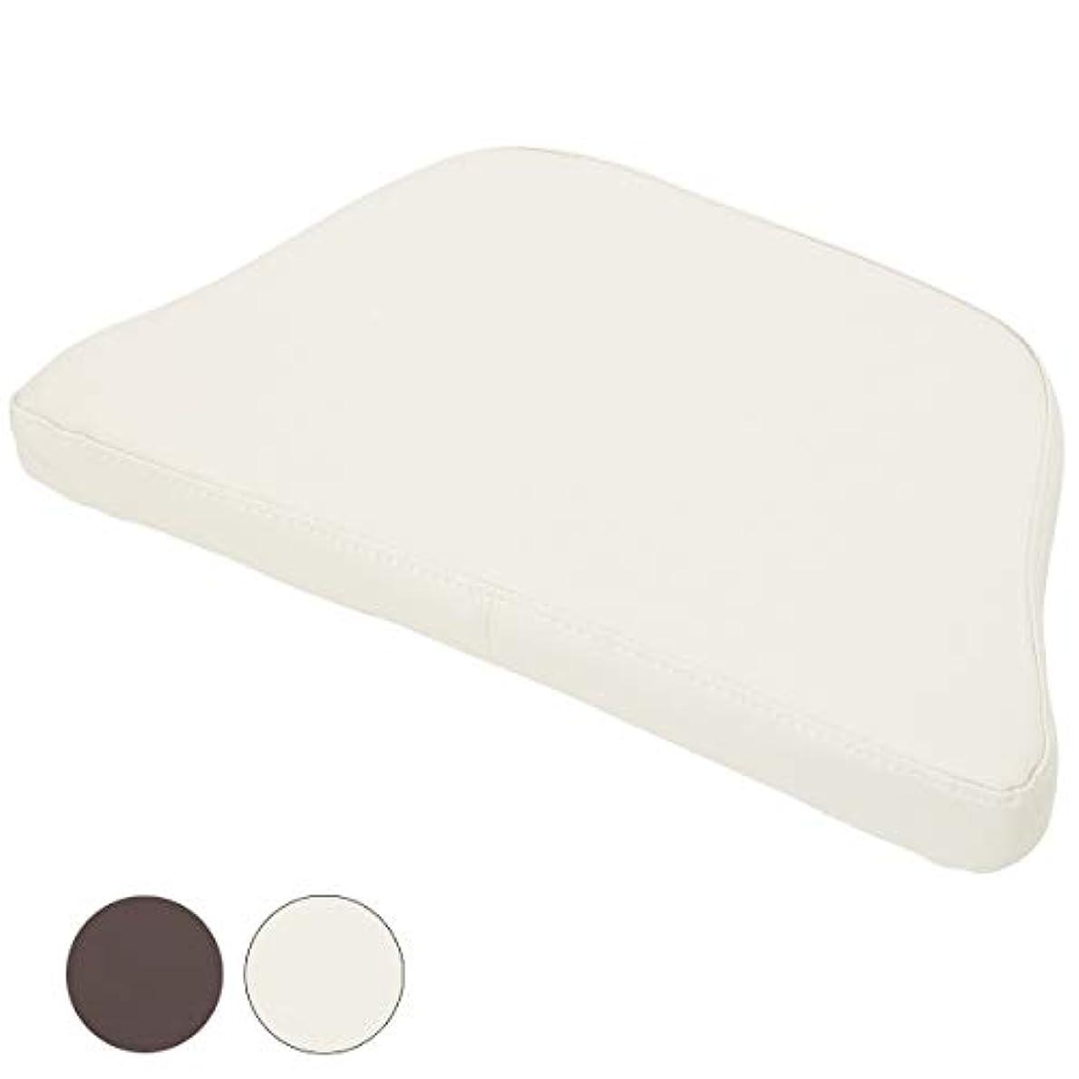 とんでもない乳白色おとなしいフェイシャルベッド用 マクラ 全2色 ホワイト [ フェイシャルベッド マッサージベッド 施術ベッド 整体ベッド エステベッド マッサージ台 施術台 マッサージ枕 マッサージマクラ リクライニング 整体 ベッド 枕 ]