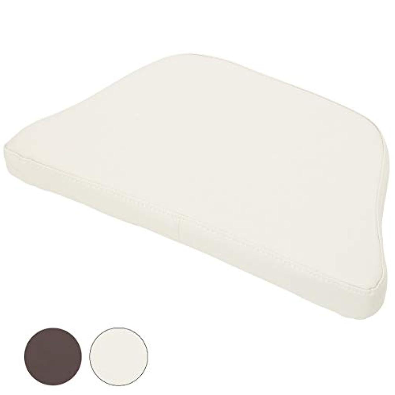 フェイシャルベッド用 マクラ 全2色 ホワイト [ フェイシャルベッド マッサージベッド 施術ベッド 整体ベッド エステベッド マッサージ台 施術台 マッサージ枕 マッサージマクラ リクライニング 整体 ベッド 枕 ]