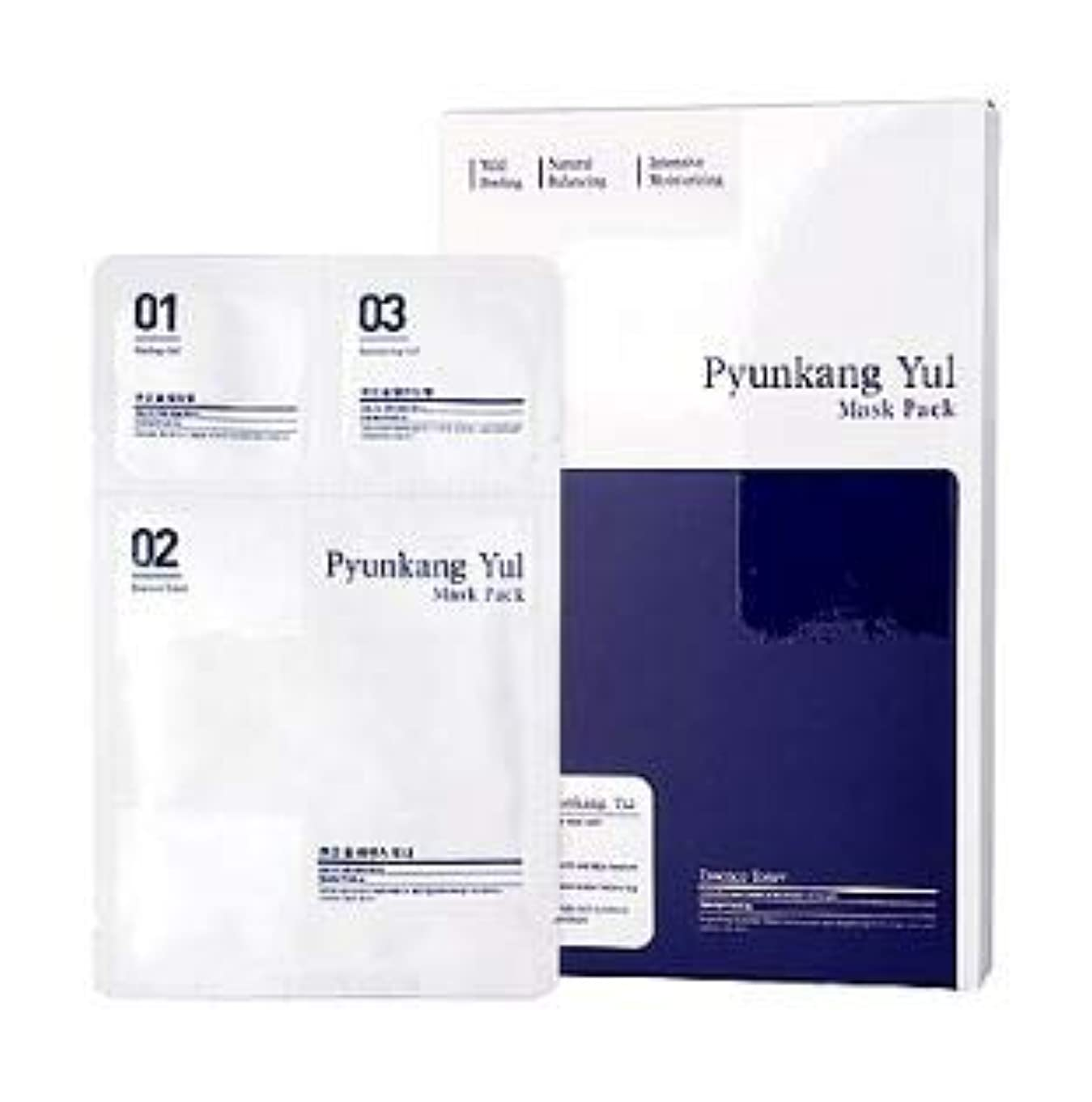 嫌悪篭放射能[Pyunkang Yul] 3 Step Mask Pack (5ea) /[扁康率(PYUNKANG YUL)] 3 ステップ マスク パック (5枚) [並行輸入品]