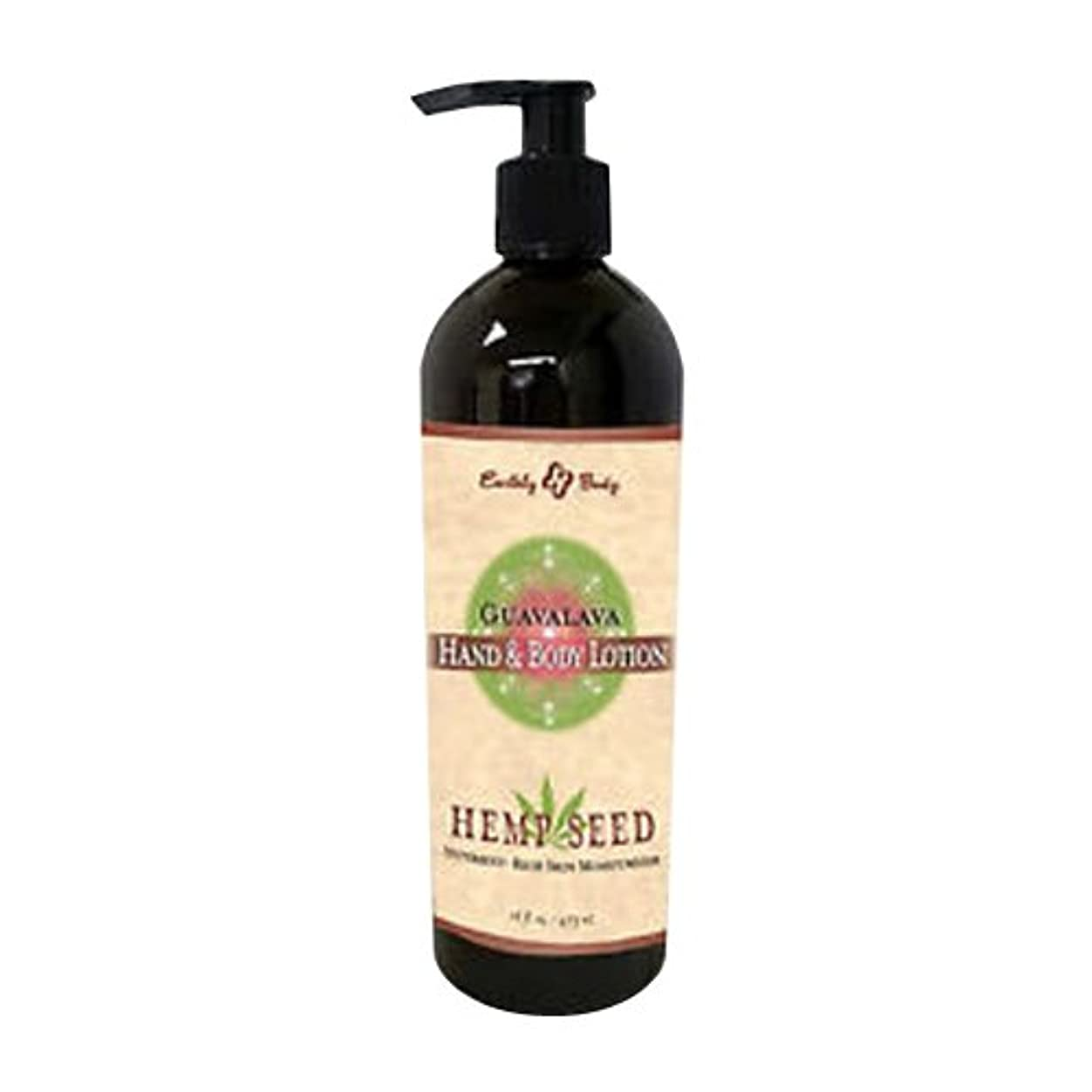 地殻叫ぶハブHand & Body Lotion Velvet Guavalava 16oz by Earthly Body