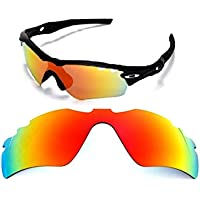 Galaxy Replacement Lenses For Oakley Radar Path Vented Sunglasses Red