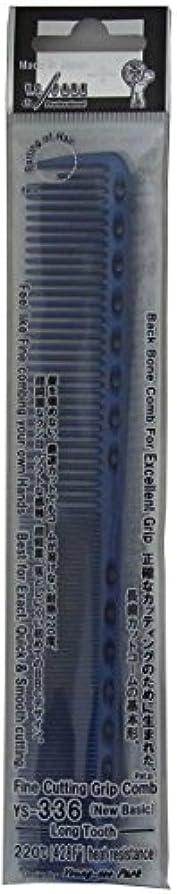 ブリーフケースフレット重荷Y.S.PARK カッティングコーム YS-336 ブルー
