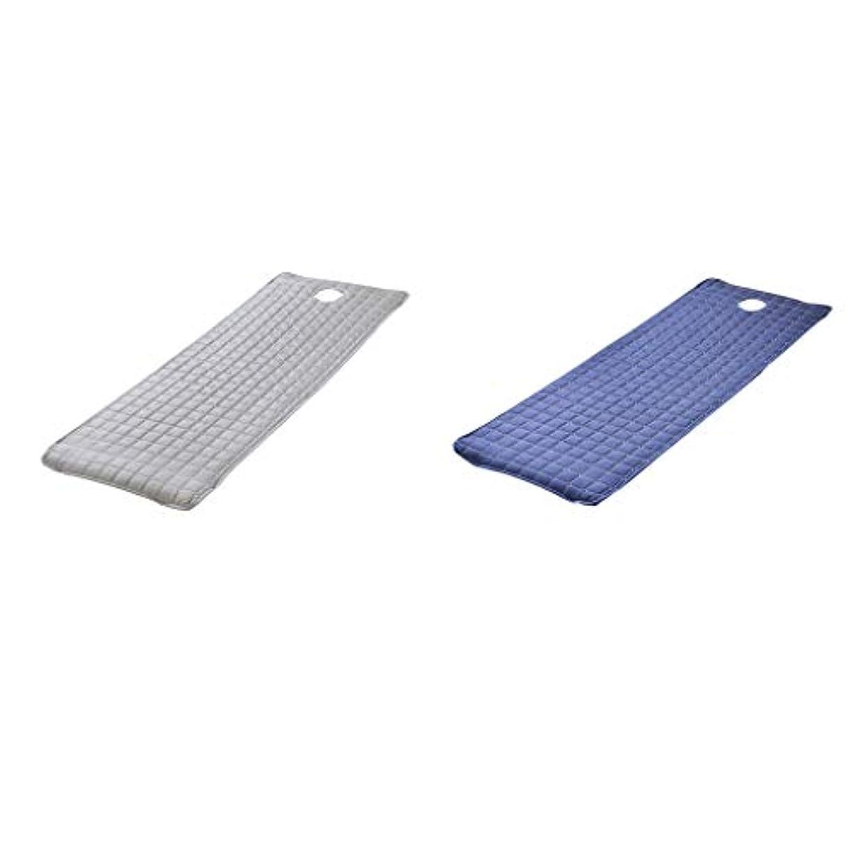 クラブ財布バイオレットchiwanji 2本 ベッドシーツ マットレスカバー ベッドカバー SPA マッサージ用 180x60cm 実用的