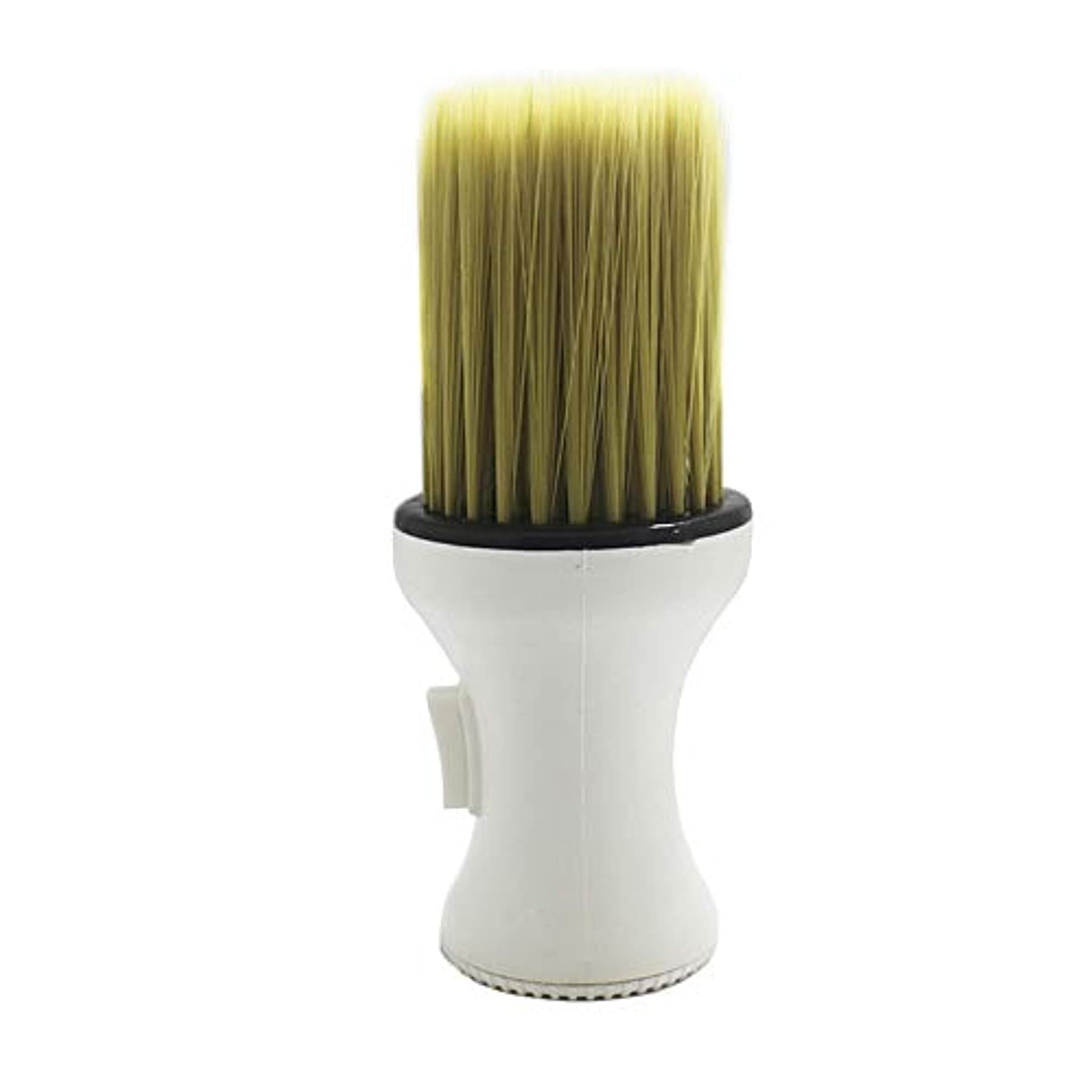 毒十分ではない半径1st market プレミアム品質ネックダスターブラシホワイトソフトブラシ理髪師理髪ヘアサロンサロンスタイリストクリーニングブラシ