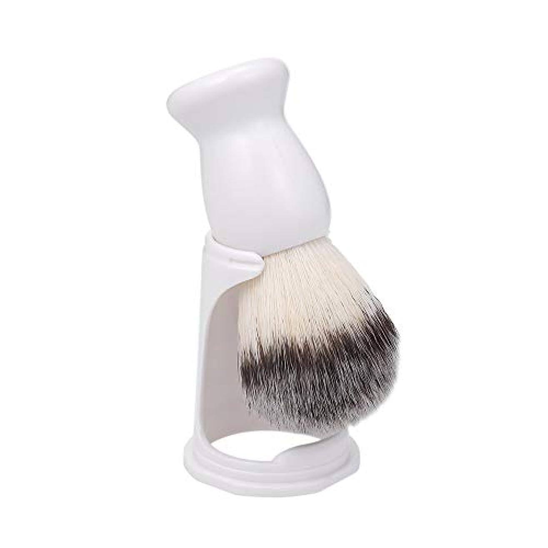 釈義本物ホイストDecdeal ひげブラシ シェービング ブラシ 男性用 ウェットシェービングブラシ ホルダースタンド ひげ剃りブラシ用 シェービングツール