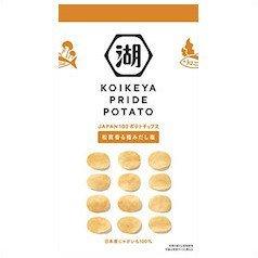 湖池屋 プライドポテト 松茸香る極みだし 63×2個 Pride potato