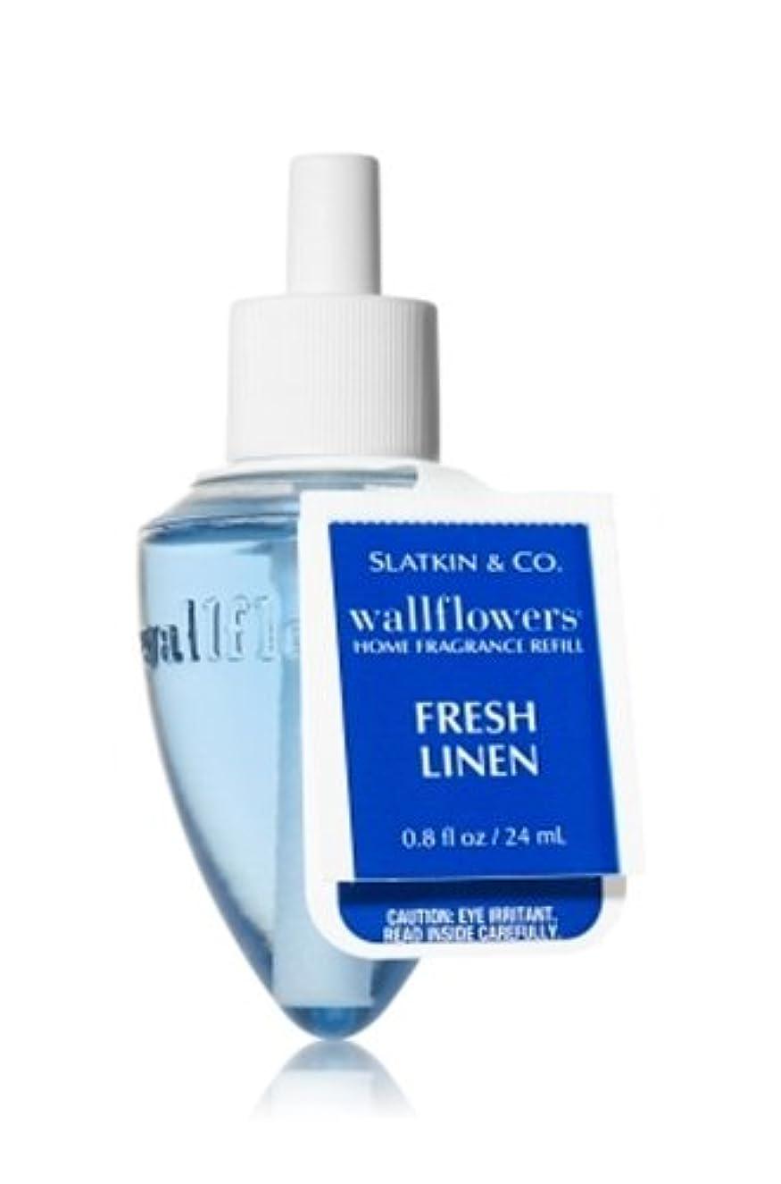 バンケット文芸決定的Bath & Body Works(バス&ボディワークス)フレッシュ?リネン ホームフレグランス レフィル(本体は別売りです)Fresh Linen Wallflowers Refill Single Bottles