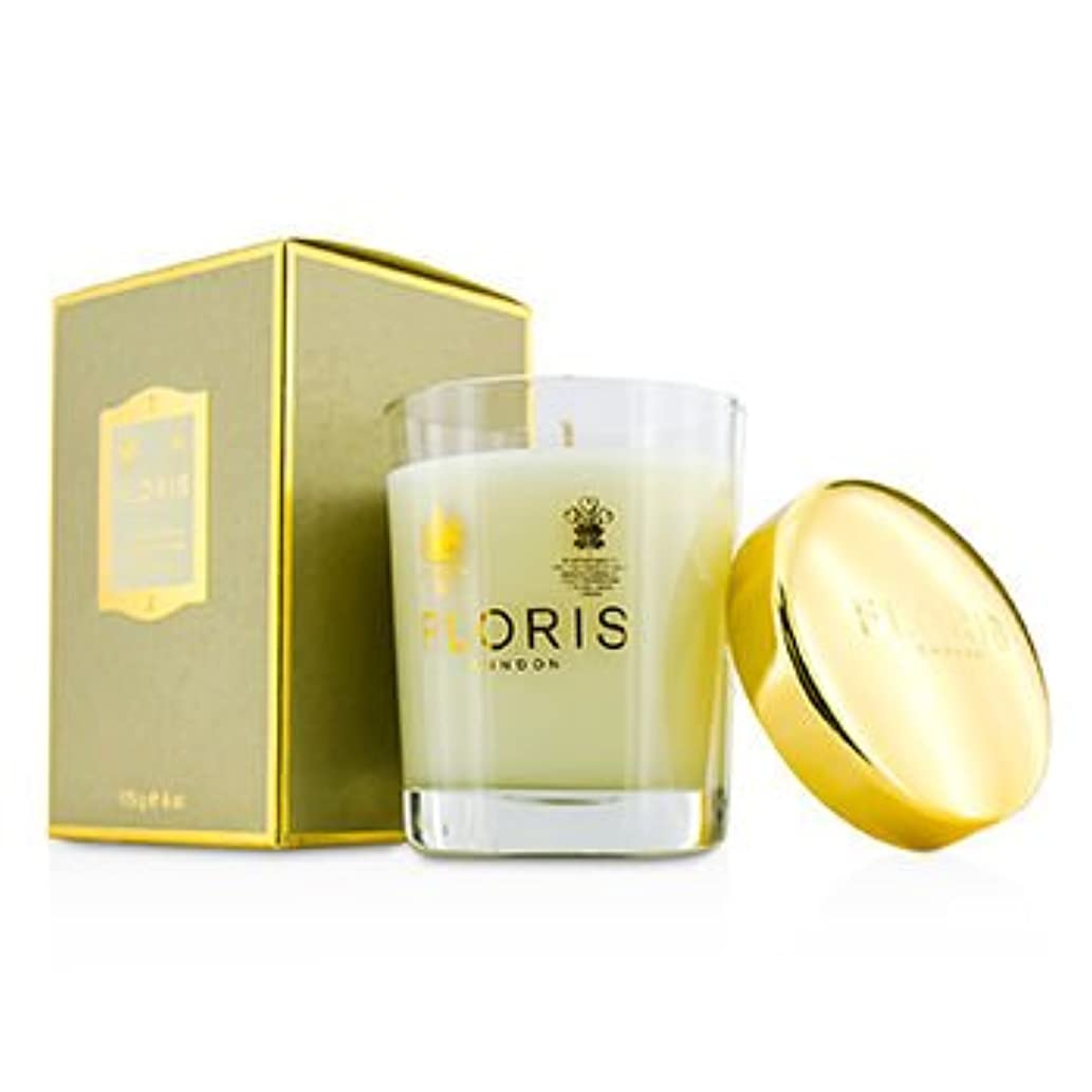 あそこ丈夫取り除く[Floris] Scented Candle - Stephanotis & Ylang Ylang 175g/6oz