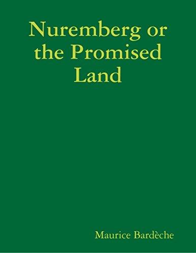 Nuremberg or the Promised Land (English Edition)