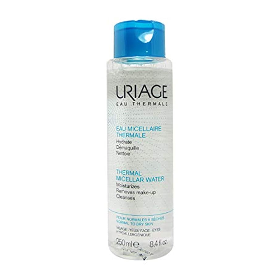 再び虚栄心誇張Uriage Thermal Micellar Water Normal To Dry Skin 250ml [並行輸入品]