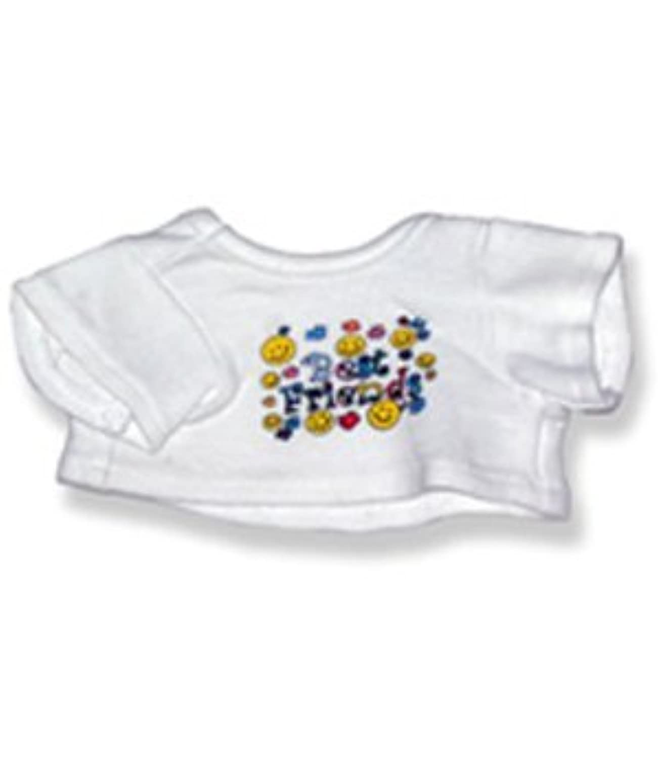 Best Friends T-Shirt 8 inch - 2035 Fits 8 - 10 bears, includes Build a Bear, The Bear Mill, and Stuff your own Animals. by The Bear Mill