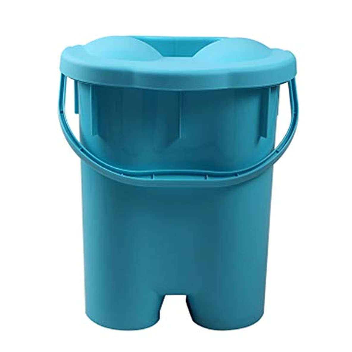 指令上ドナウ川家庭用シンプルな発泡盆たたみ足湯発泡バケツバレル深いバレルポータブル厚いプラスチックフォーム盆地