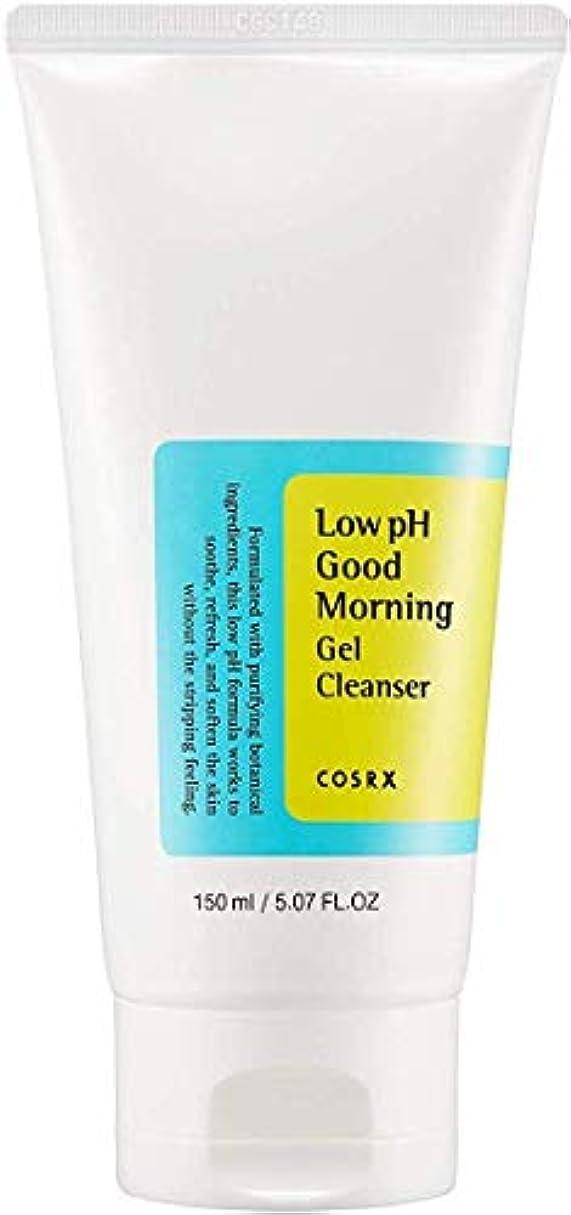風邪をひく図できたCOSRX 弱酸性 グッドモーニング ジェルクレンザー / 敏感肌用 クレンジングジェル / Low PH Good Morning Gel Cleanser (150ml)