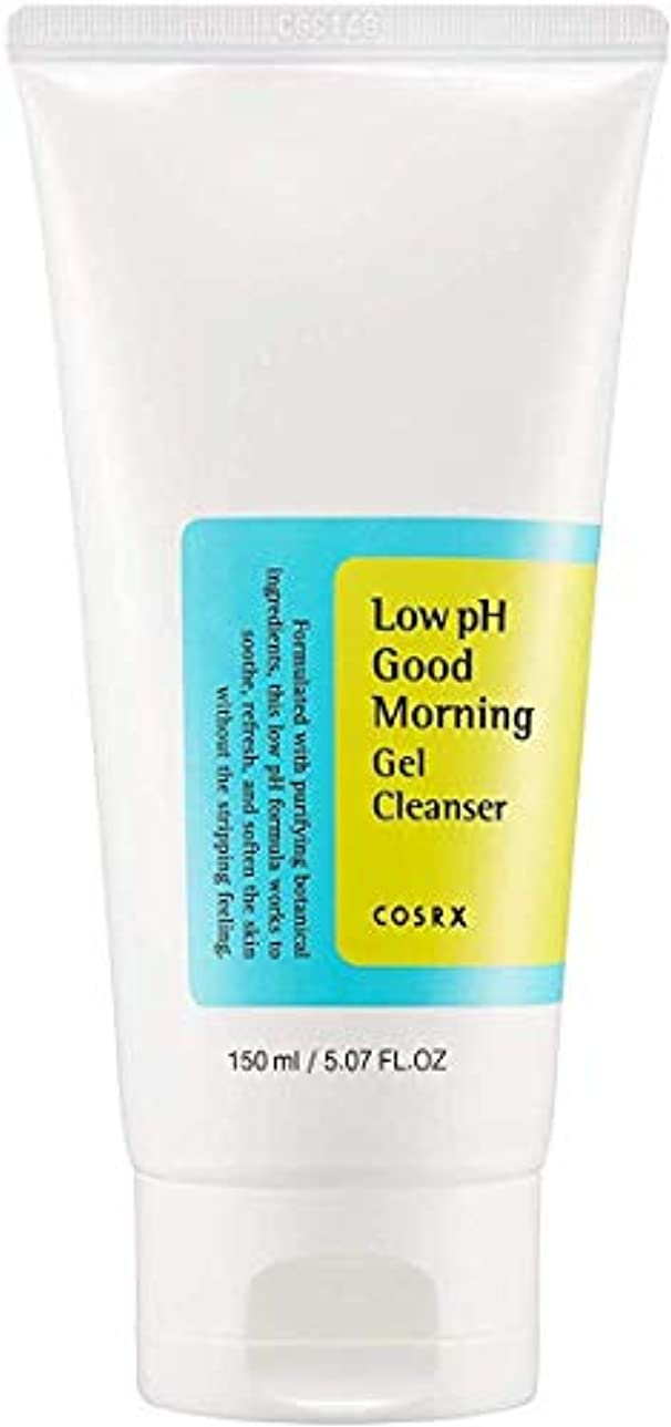 腰看板使用法COSRX 弱酸性 グッドモーニング ジェルクレンザー / 敏感肌用 クレンジングジェル / Low PH Good Morning Gel Cleanser (150ml)