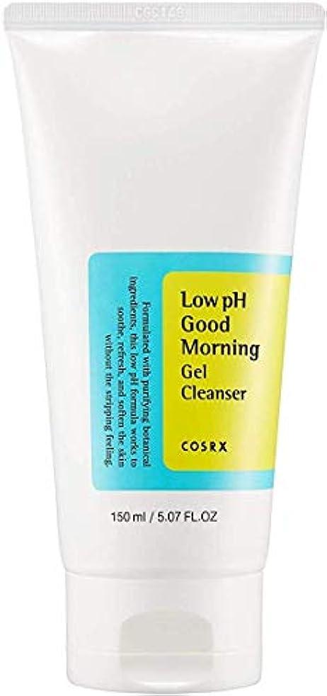 印象的ピッチャー免除するCOSRX 弱酸性 グッドモーニング ジェルクレンザー / 敏感肌用 クレンジングジェル / Low PH Good Morning Gel Cleanser (150ml)