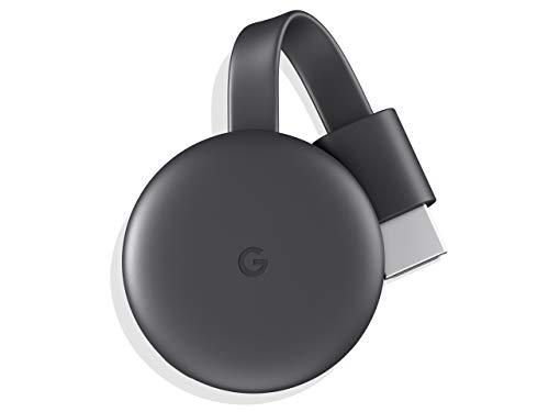 クロームキャスト グーグル 第3世代 Google Chromecast ワイヤレスHDMI ミラーリング Wi-Fi(Android iPhone iPad Mac Windows Chromebook 対応) NETFLIX YouTube Hulu DAZN等を楽しめます【正規品】