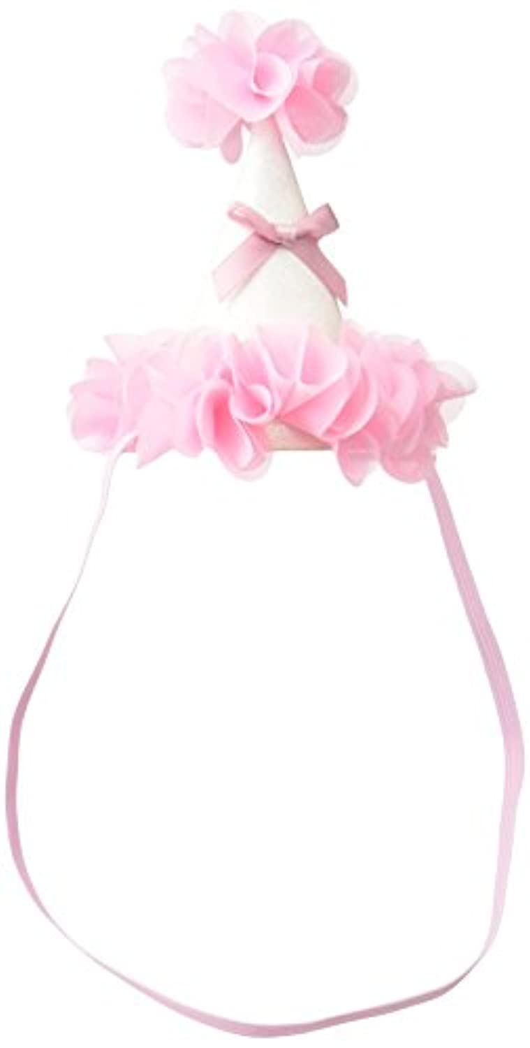 MANDY Party Hat White and Pink