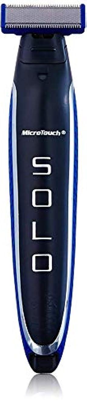 メンダシティダイエット事前に[(マイクロタッチ) Micro Touch] [Micro Touch SOLO Rechargeable Shaver, Trimmer and Edger/SOLO充電式シェーバー、トリマー、エッジガー] (並行輸入品...