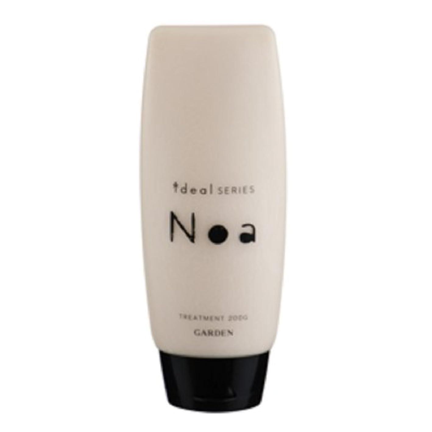 常識揃えるめったにGARDEN ideal SERIES (イデアルシリーズ) Noa 天然シアバター配合 ノアトリートメント 200g