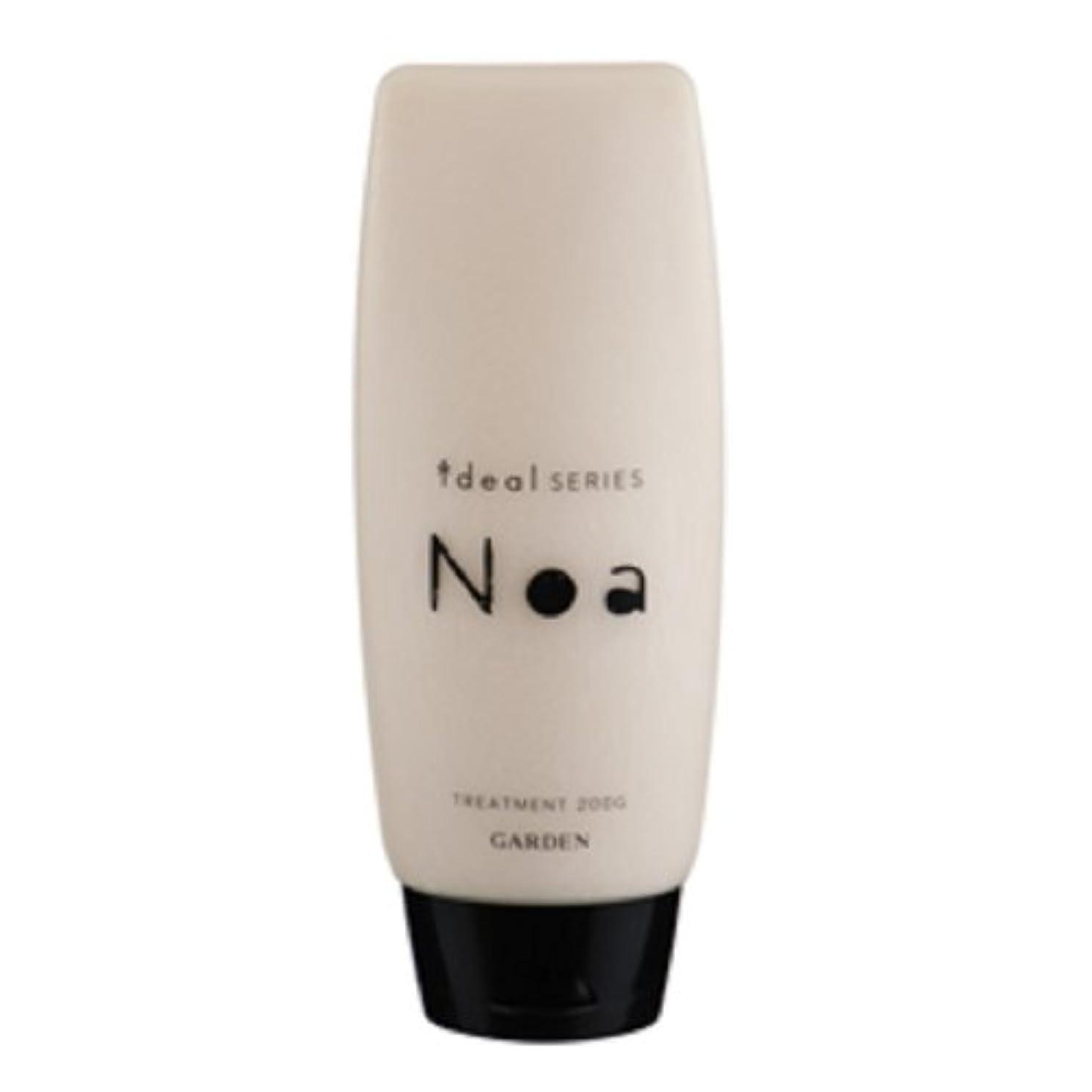 タワー容器タワーGARDEN ideal SERIES (イデアルシリーズ) Noa 天然シアバター配合 ノアトリートメント 200g