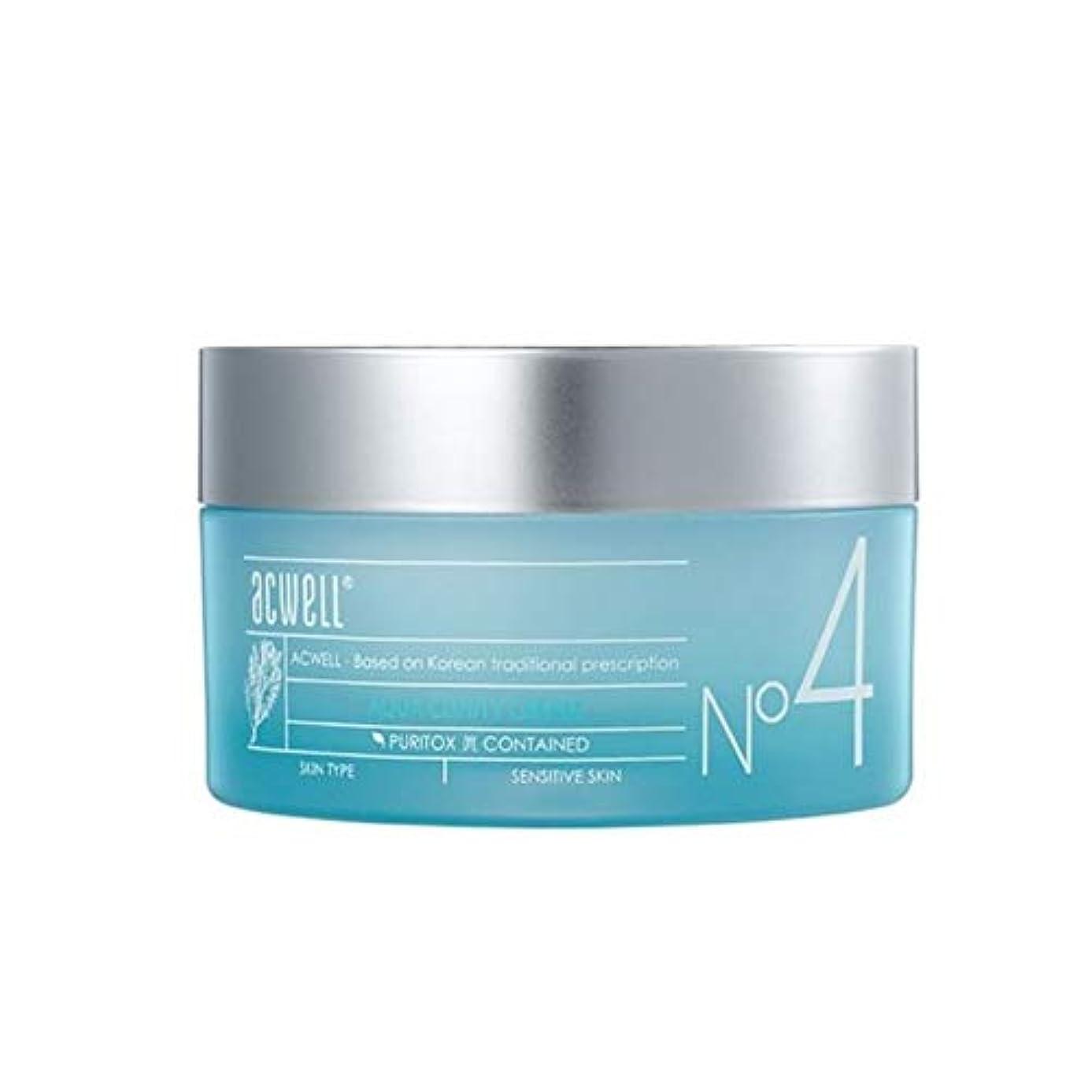 寄生虫不和スリムアークウェルアクアクリニティクリーム50ml韓国コスメ、Acwell Aqua Clinity Cream 50ml Korean Cosmetics [並行輸入品]