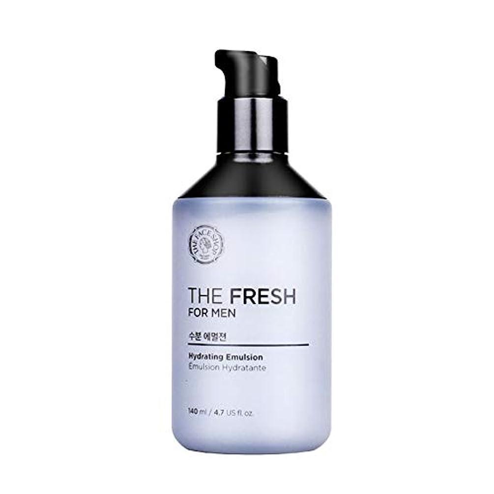 爆弾ペインティング拍手ザ?フェイスショップザ?フレッシュフォーマン水分エマルジョン140mlメンズコスメ、The Face Shop The Fresh For Men Hydrating Emulsion 140ml Men's Cosmetics...