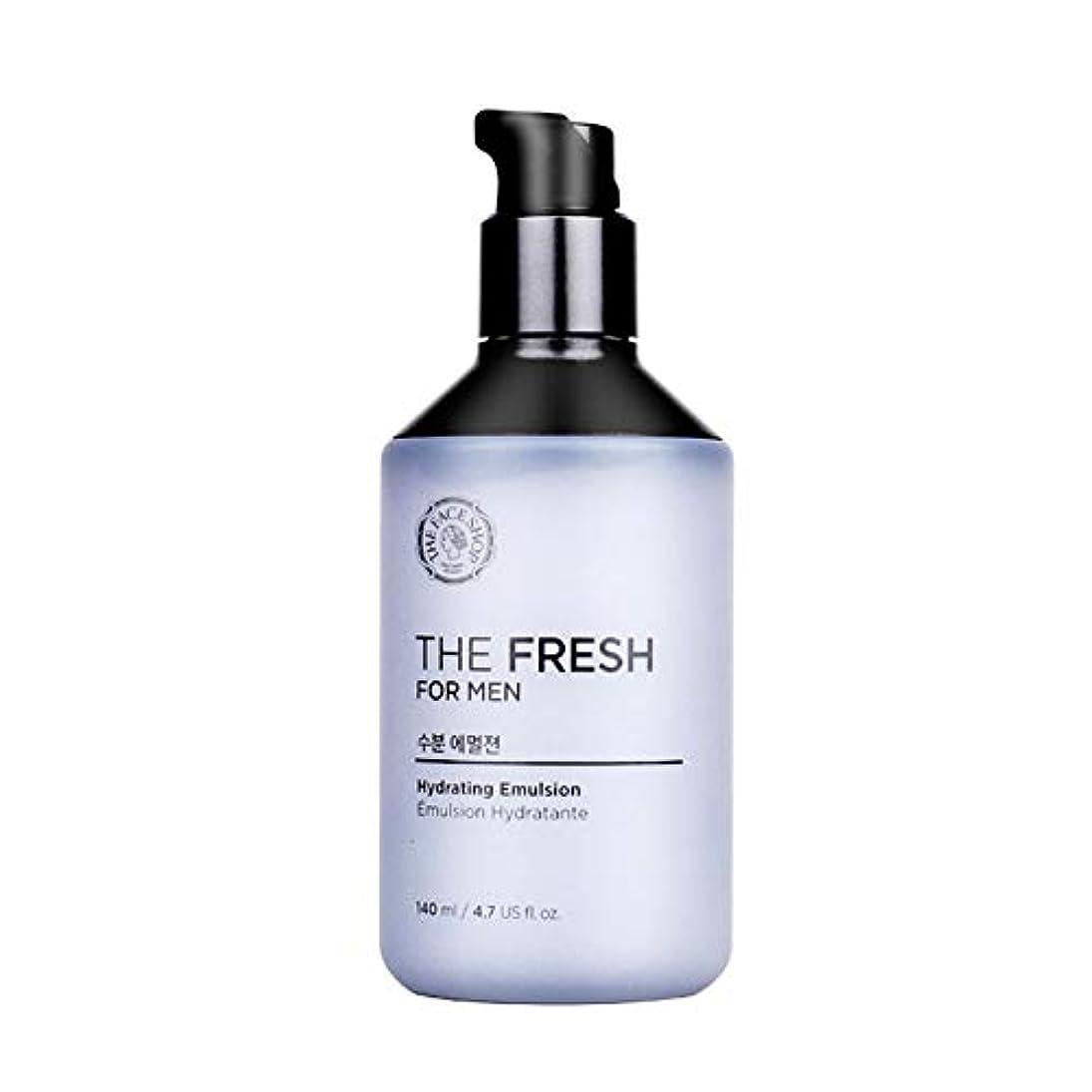 気配りのあるとげメンダシティザ・フェイスショップザ・フレッシュフォーマン水分エマルジョン140mlメンズコスメ、The Face Shop The Fresh For Men Hydrating Emulsion 140ml Men's Cosmetics [並行輸入品]
