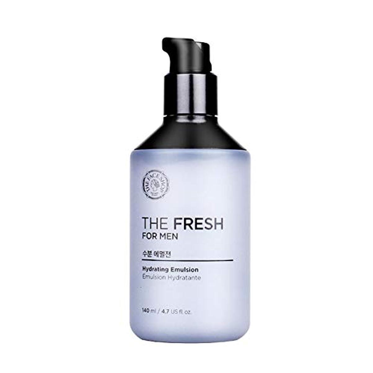 成功した矩形許容ザ?フェイスショップザ?フレッシュフォーマン水分エマルジョン140mlメンズコスメ、The Face Shop The Fresh For Men Hydrating Emulsion 140ml Men's Cosmetics [並行輸入品]