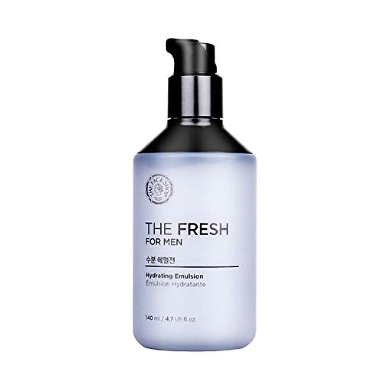 つまずくメロディアスアクセシブルザ?フェイスショップザ?フレッシュフォーマン水分エマルジョン140mlメンズコスメ、The Face Shop The Fresh For Men Hydrating Emulsion 140ml Men's Cosmetics...