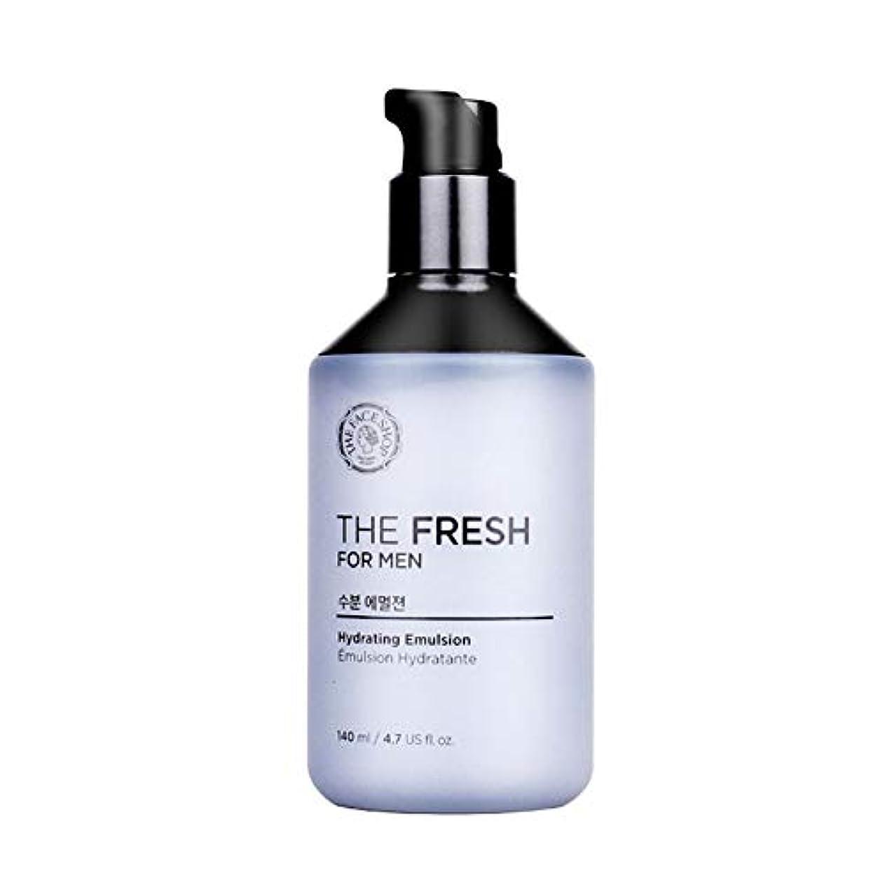 ミトン賃金光沢のあるザ?フェイスショップザ?フレッシュフォーマン水分エマルジョン140mlメンズコスメ、The Face Shop The Fresh For Men Hydrating Emulsion 140ml Men's Cosmetics...