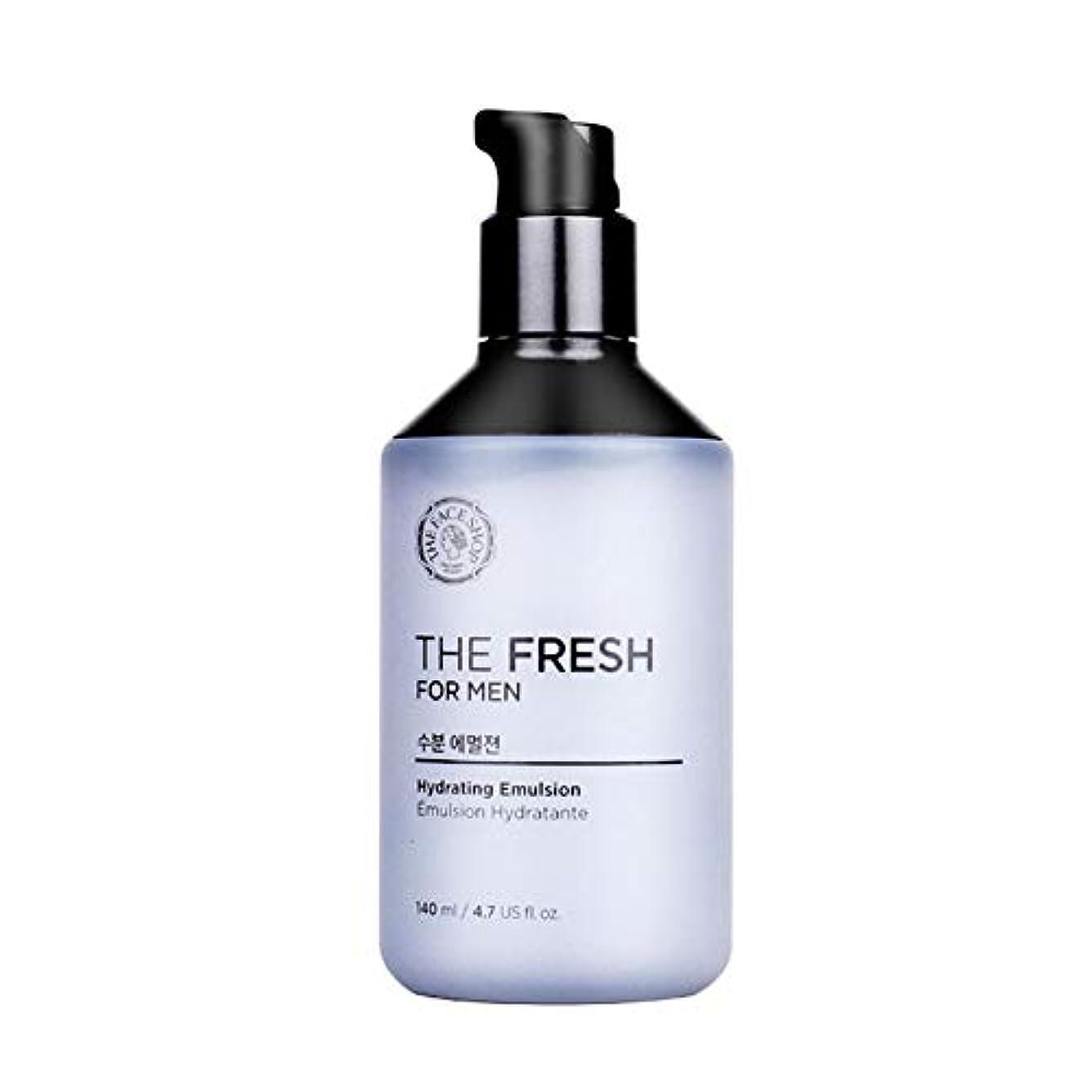 警戒なかなか飾り羽ザ?フェイスショップザ?フレッシュフォーマン水分エマルジョン140mlメンズコスメ、The Face Shop The Fresh For Men Hydrating Emulsion 140ml Men's Cosmetics...
