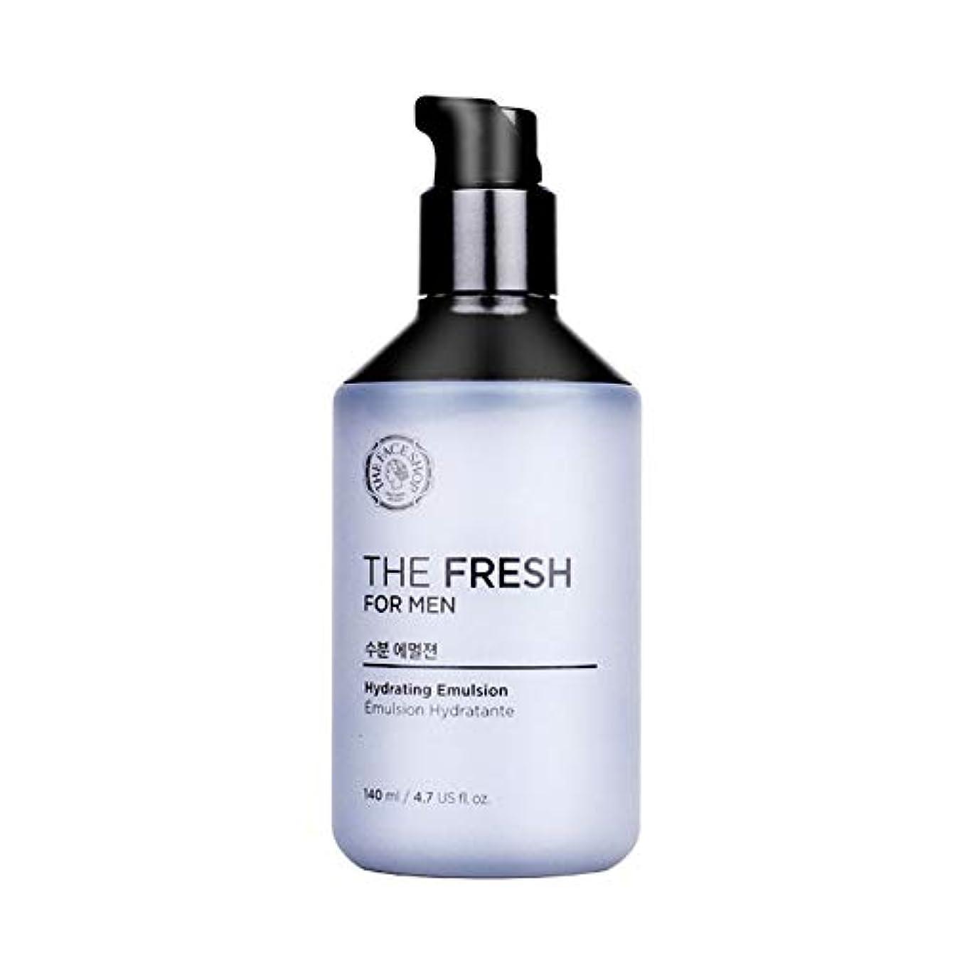 表現ネックレットペットザ?フェイスショップザ?フレッシュフォーマン水分エマルジョン140mlメンズコスメ、The Face Shop The Fresh For Men Hydrating Emulsion 140ml Men's Cosmetics...