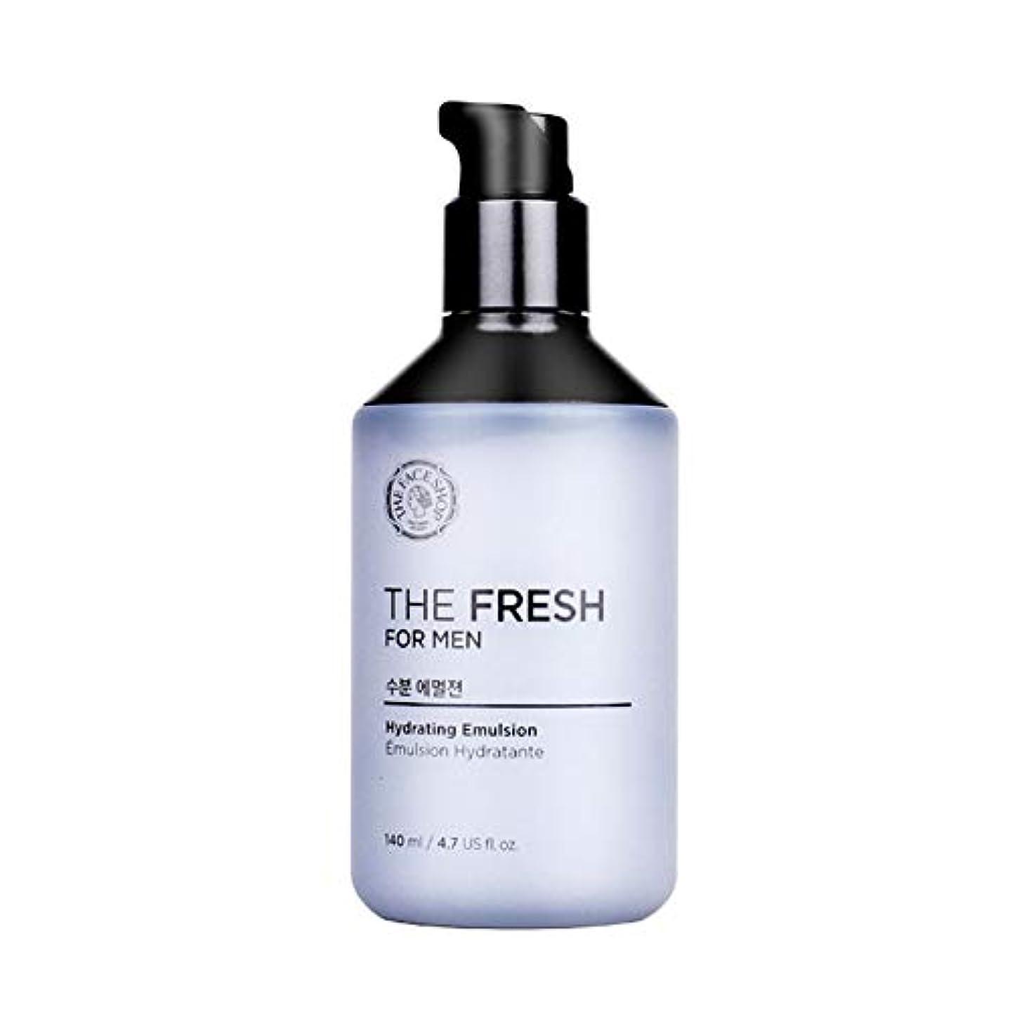 血色の良いメタリック責めるザ?フェイスショップザ?フレッシュフォーマン水分エマルジョン140mlメンズコスメ、The Face Shop The Fresh For Men Hydrating Emulsion 140ml Men's Cosmetics...