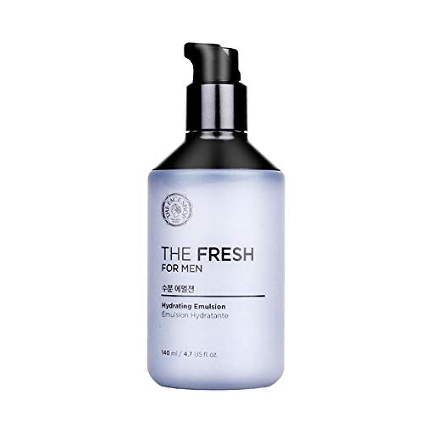横たわる可能家庭教師ザ?フェイスショップザ?フレッシュフォーマン水分エマルジョン140mlメンズコスメ、The Face Shop The Fresh For Men Hydrating Emulsion 140ml Men's Cosmetics...