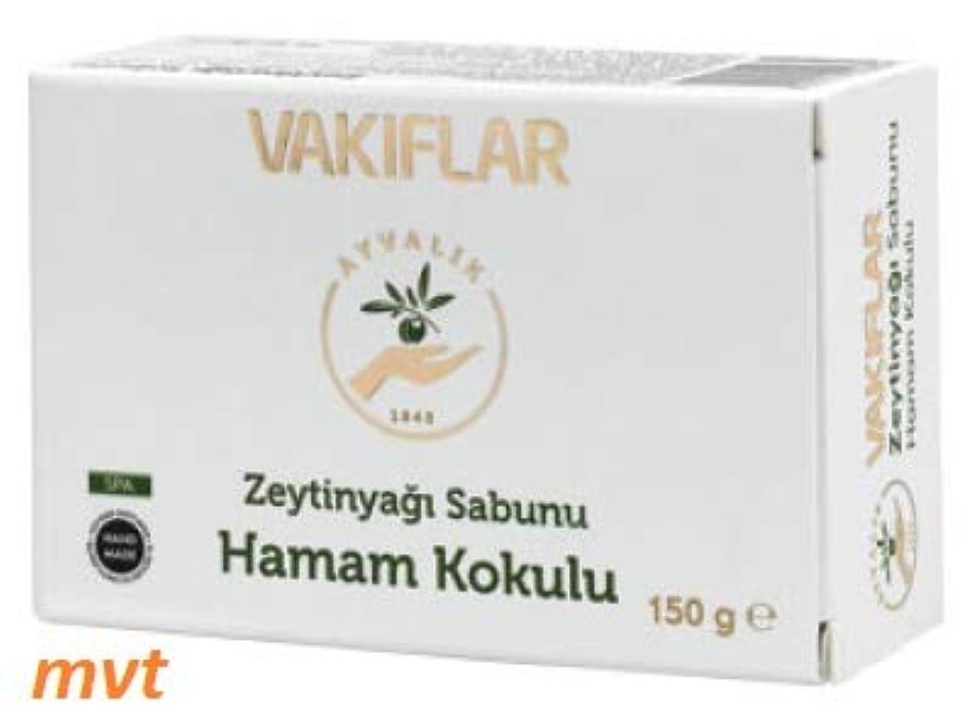 罪何かはっきりとトルコ式バス  ハマム  の香りのオリーブオイル石鹸 150g トルコ - (Hamam kokulu)