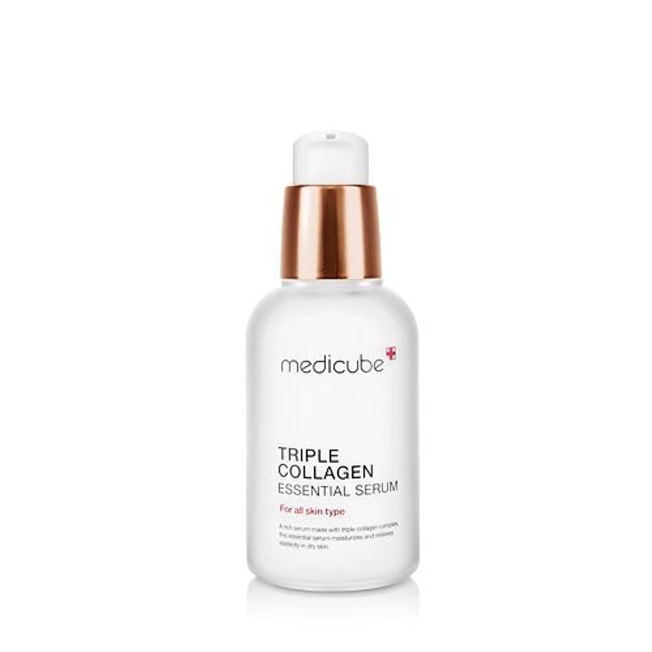補正青ファームmedicube Triple Collagen Essential Serum 50ml/メディキューブ トリプル コラーゲン エッセンシャル セラム 50ml [並行輸入品]